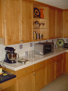 Maple Upper & Lower Cabinets