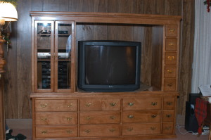 Large Wall Entertainment Center